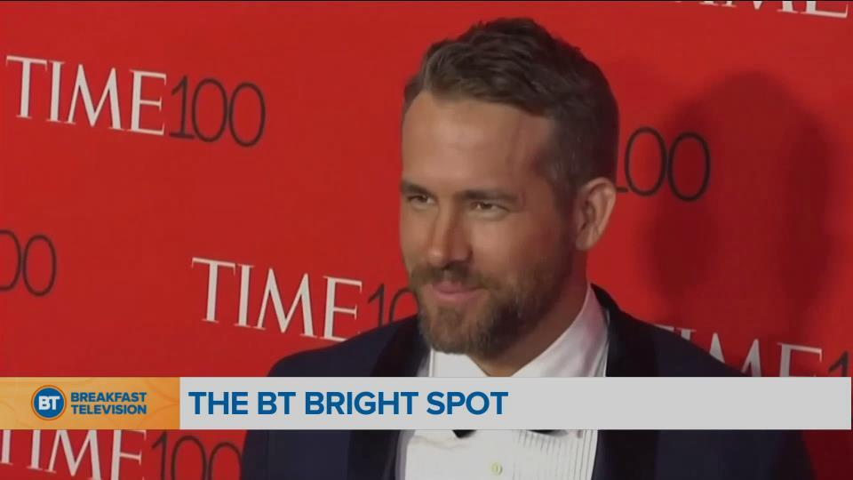 BT Bright Spot: Ryan Reynolds sends parkas to Nunavut school in need of winter gear