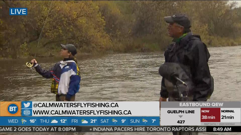 Nicole is LIVE at Calm Waters Fly Fishing (5 of 5)
