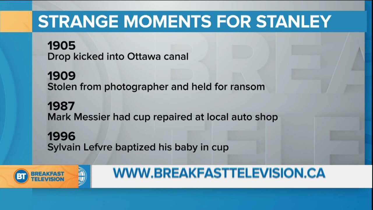 BT Bright Spot: Strange moments for the Stanley Cup
