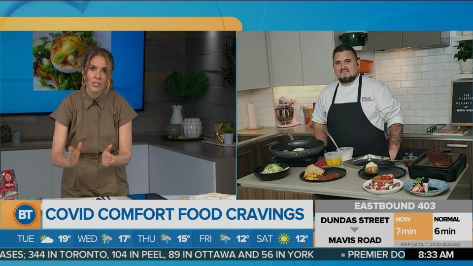 Vegan Covid comfort food with chef Doug McNish