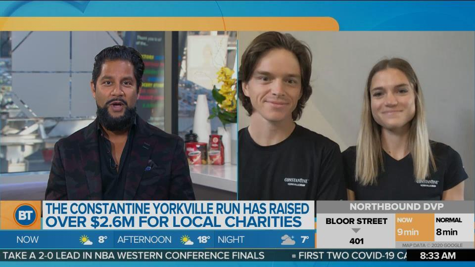 The Constantine Yorkville Run goes virtual this year!