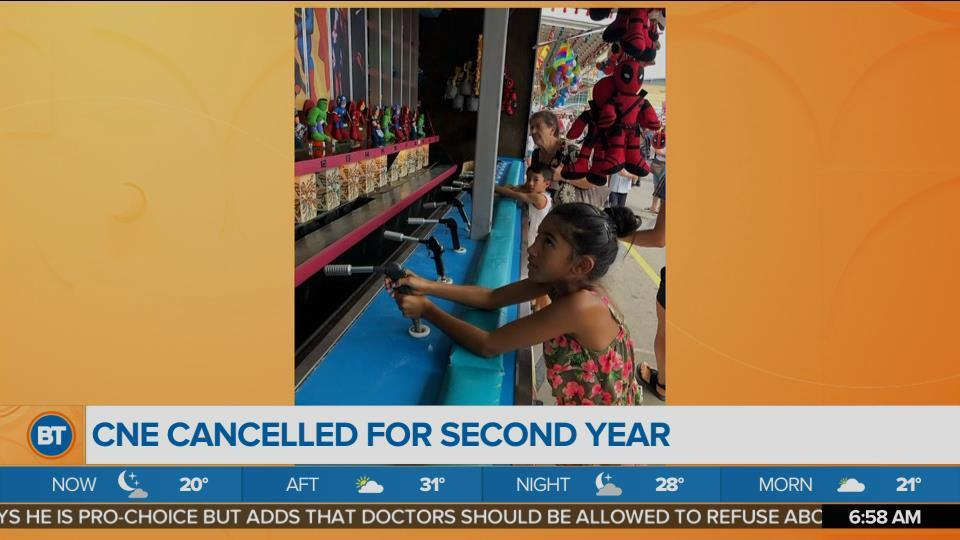 CNE Cancelled for Second Year