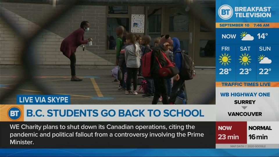 B.C. students head back to school