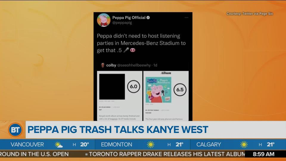 Peppa Pig beats Kanye West's 'Donda' on Rotten Tomatoes