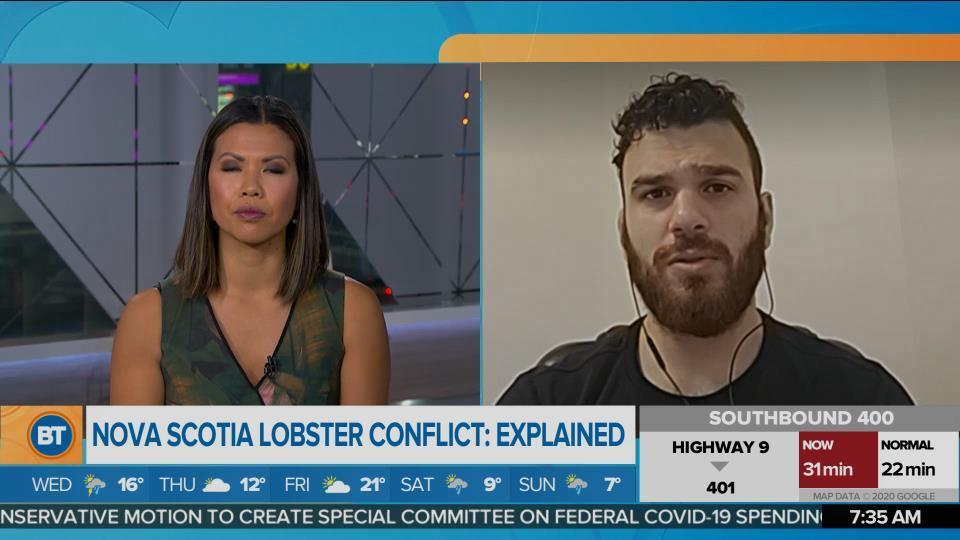 Nova Scotia lobster conflict explained