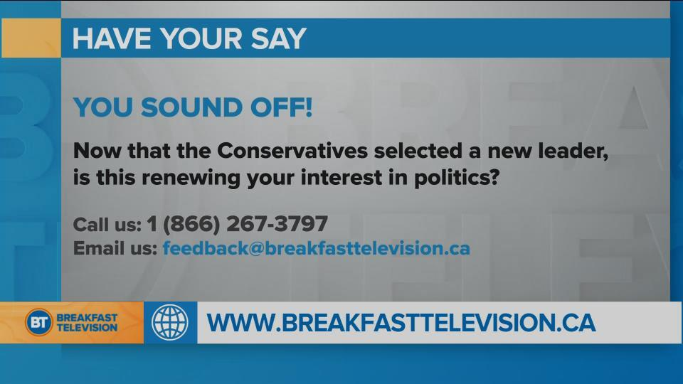 You Sound Off: does a new leader renew your interest in politics?