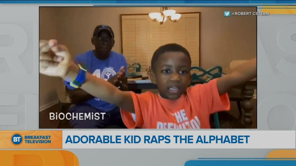 BT Bright Spot: Adorable 6-year-old raps the alphabet