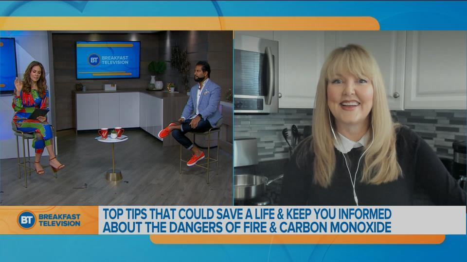 Fire prevention tips with Sharon Cooksey