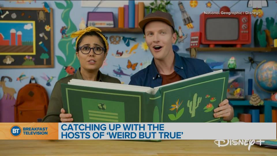 New episodes of 'Weird But True' on Disney+ every Friday