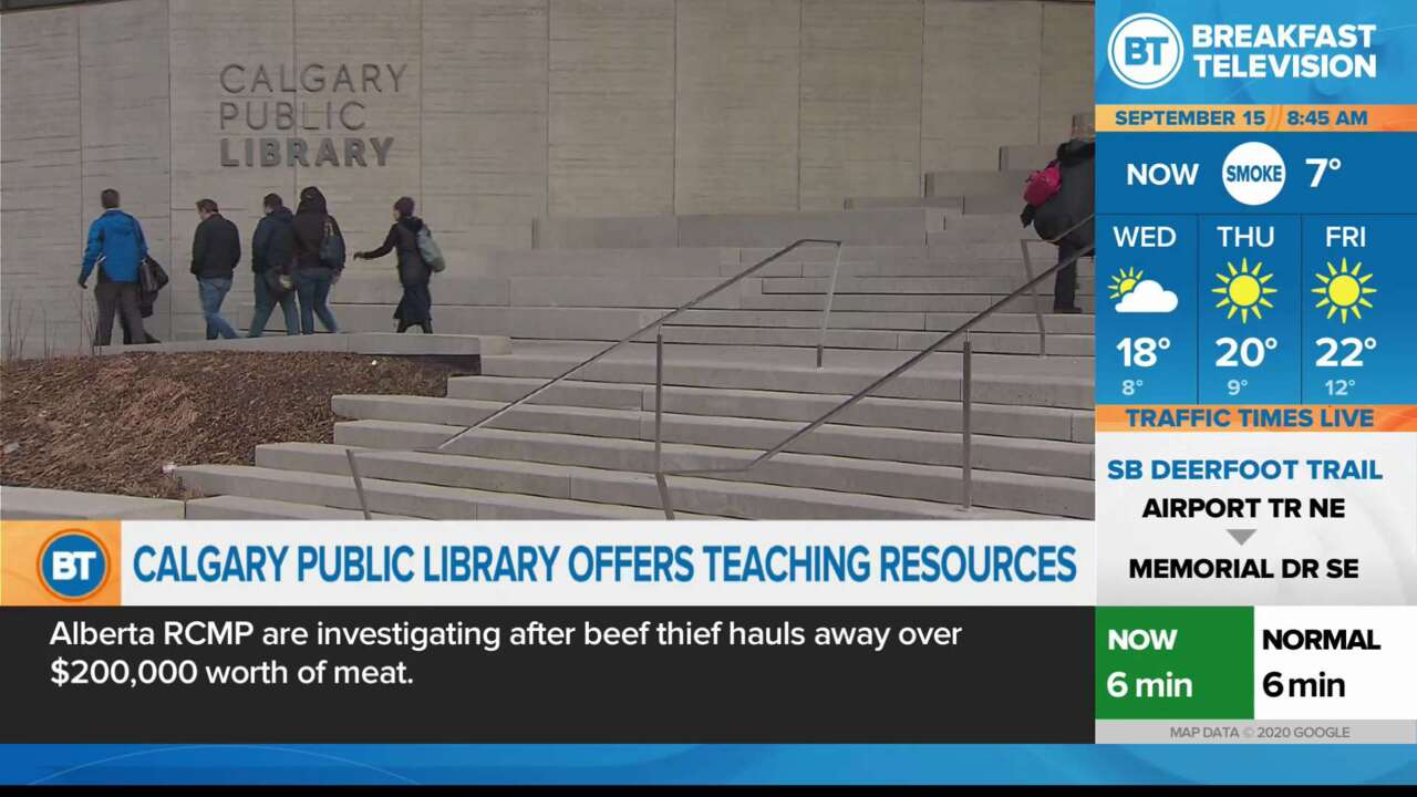 Calgary Public Library offers teaching Resources