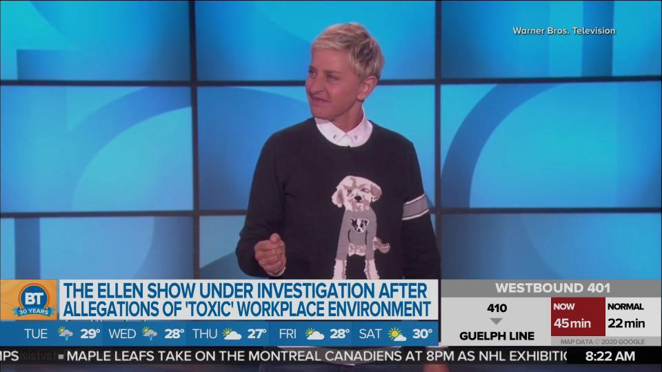 The Ellen Show under investigation after allegations of toxic work environment
