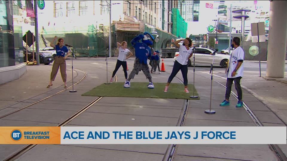 Movin' in the Morning with Ace and the Blue Jays J Force