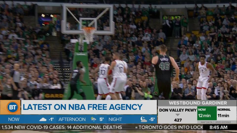 Michael Grange gives us the latest on the NBA free agency