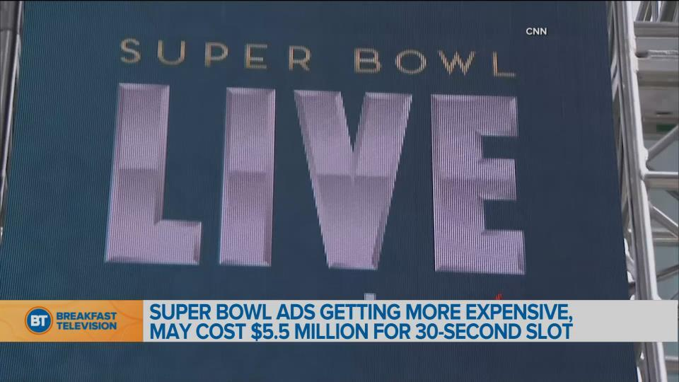Super Bowl Ads getting more expensive