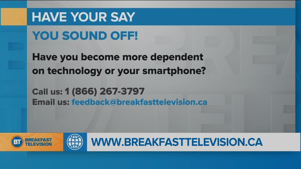 National Sound Off: Have you become more dependent on technology or your smartphone?