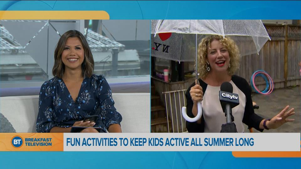 Activities to keep kids active all summer long!
