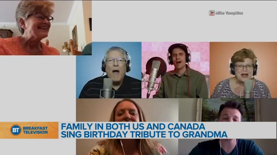 BT Bright Spot: Singer does something special for mom's birthday