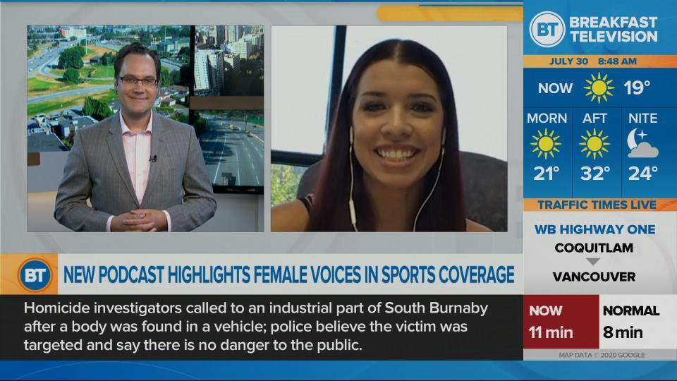 Vancouver's first all-female sports podcast