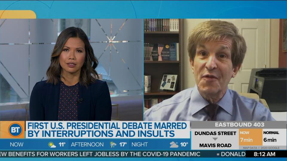 Presidential Historian Allan Lichtman reacts to presidential debate and makes his election prediction