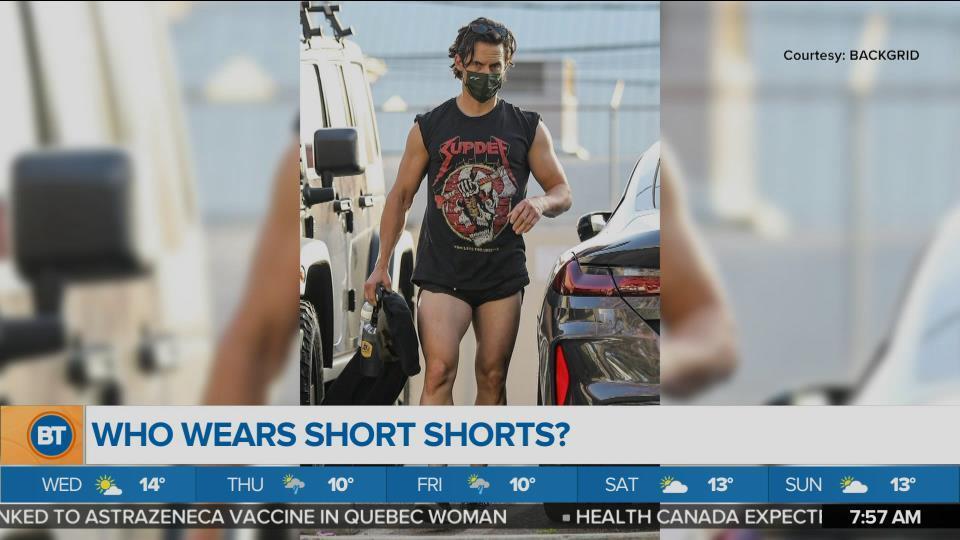 Do You Like Men in Short Shorts?