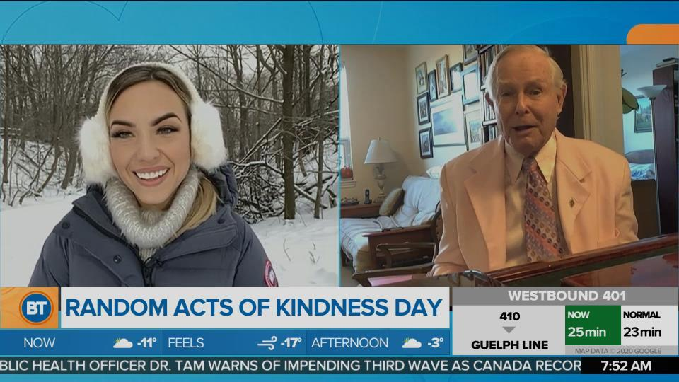 Nicole is LIVE for Random Acts of Kindness Day (2 of 3)