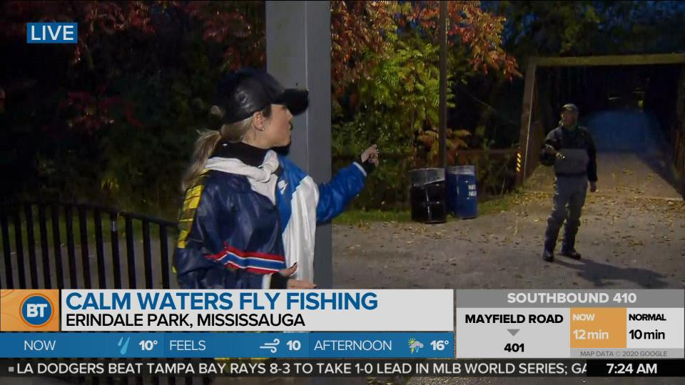 Nicole is LIVE at Calm Waters Fly Fishing (2 of 5)