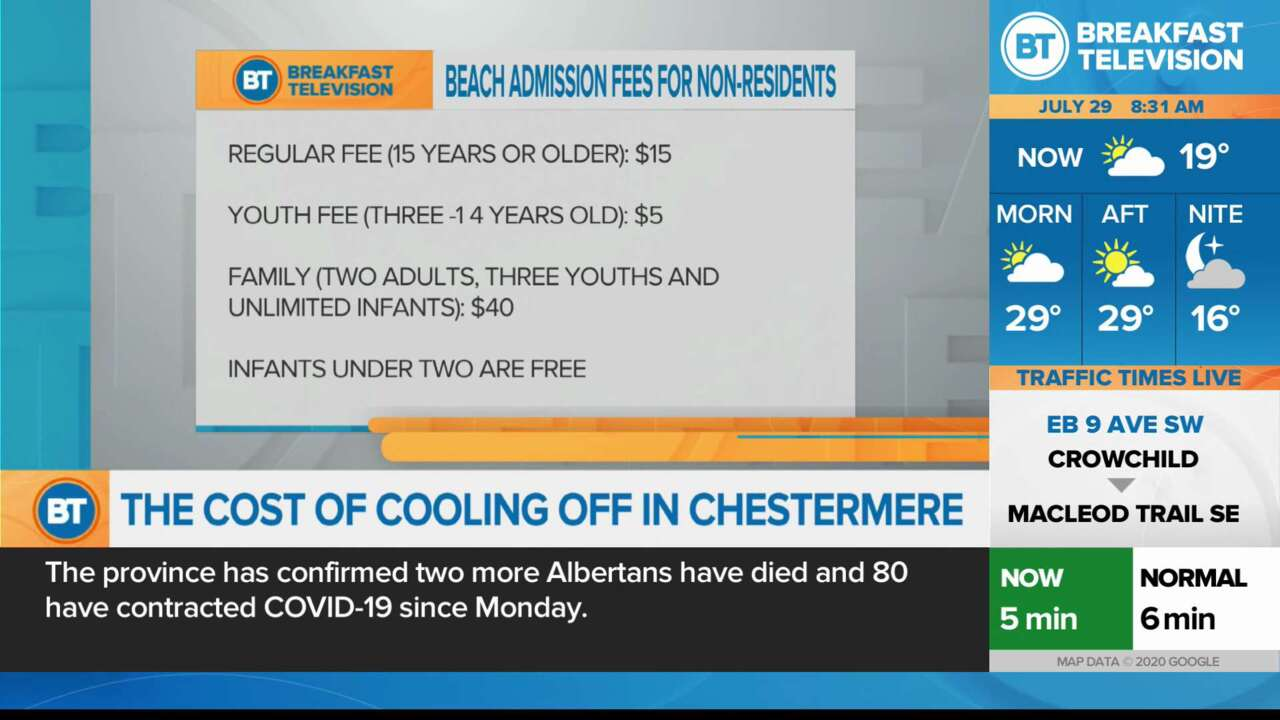 On Location: The Cost of Cooling off in Chestermere