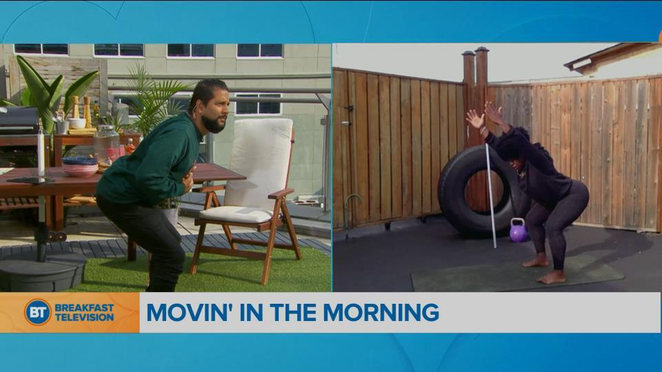 Movin' in the Morning: Sweeping through a workout
