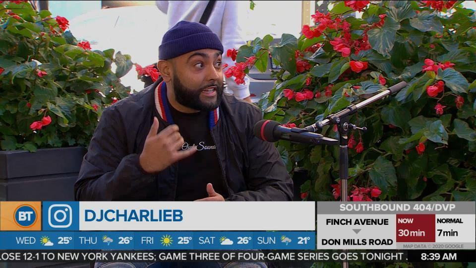 DJ Charlie B discusses giving back to Black communities