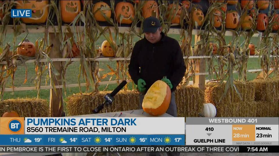 Nicole is LIVE at Pumpkins After Dark (3 of 5)