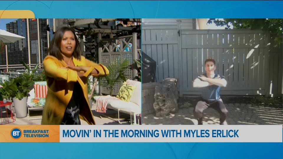 Movin' in the Morning: Sweat with Myles Erlick