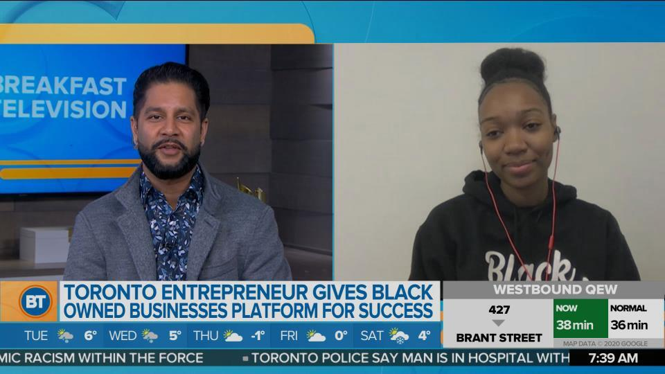 Meet the Toronto Entrepreneur Who is Giving Black Owned Businesses a Platform for Success