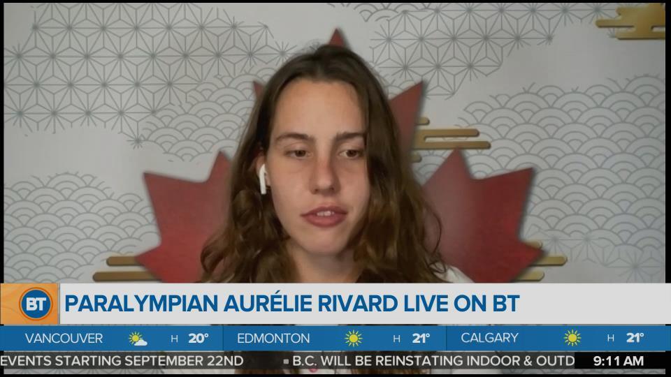 Bright Spot: Paralympian Aurélie Rivard