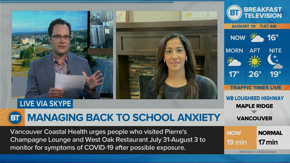 Managing back to school anxiety