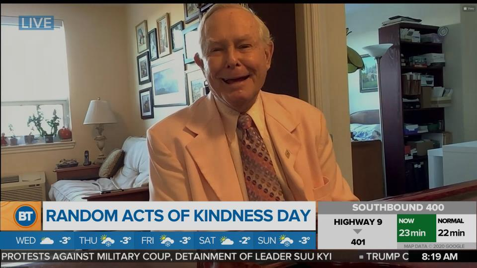 Nicole is LIVE for Random Acts of Kindness Day (3 of 3)
