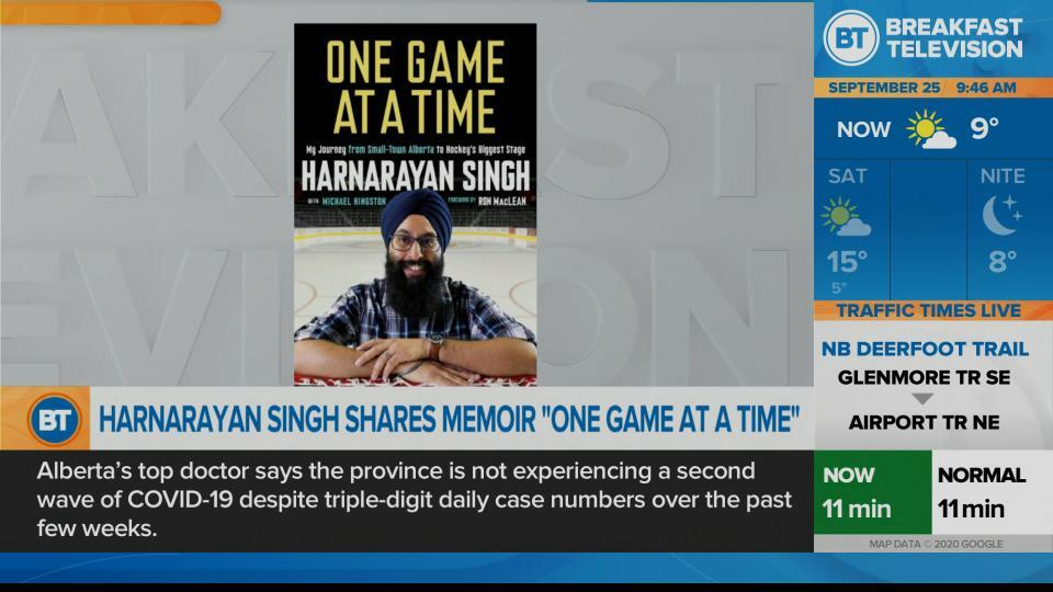 Harnaryan Singh talks making his way to hockey's main stage, one game at a time.