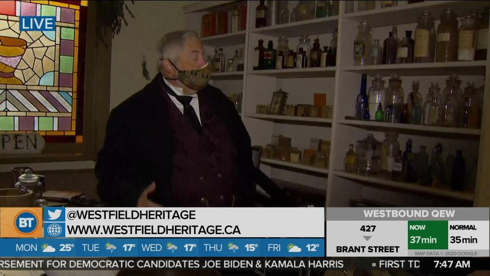 Nicole is LIVE at Westfield Heritage Village Conservation Area (3 of 4)