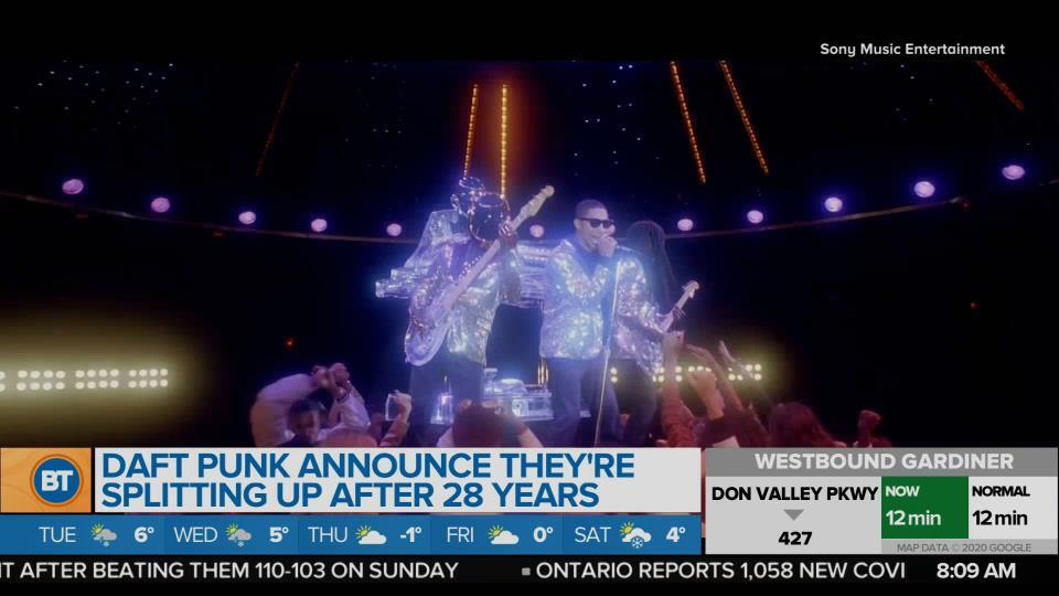 BT Entertainment: Daft Punk Announce They're Splitting Up After 28 Years