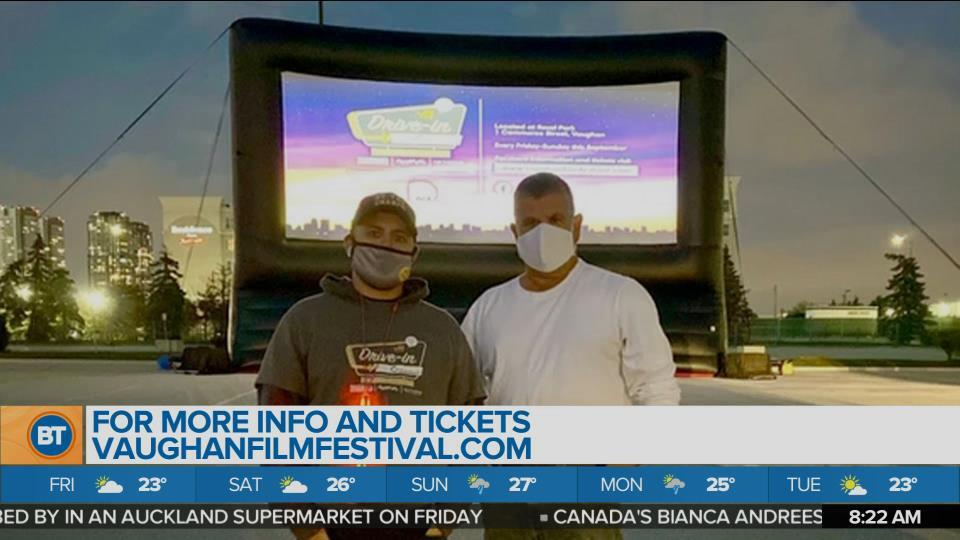 The VFF drive-in presented by Quadreal runs every Friday through Sunday for the entire month
