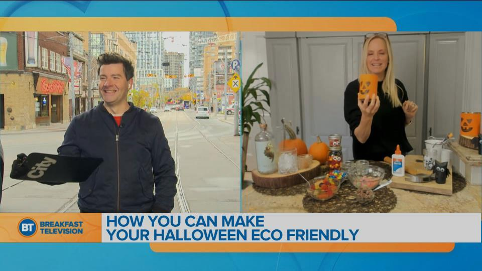 How you can make your Halloween eco friendly with Julia Grieve