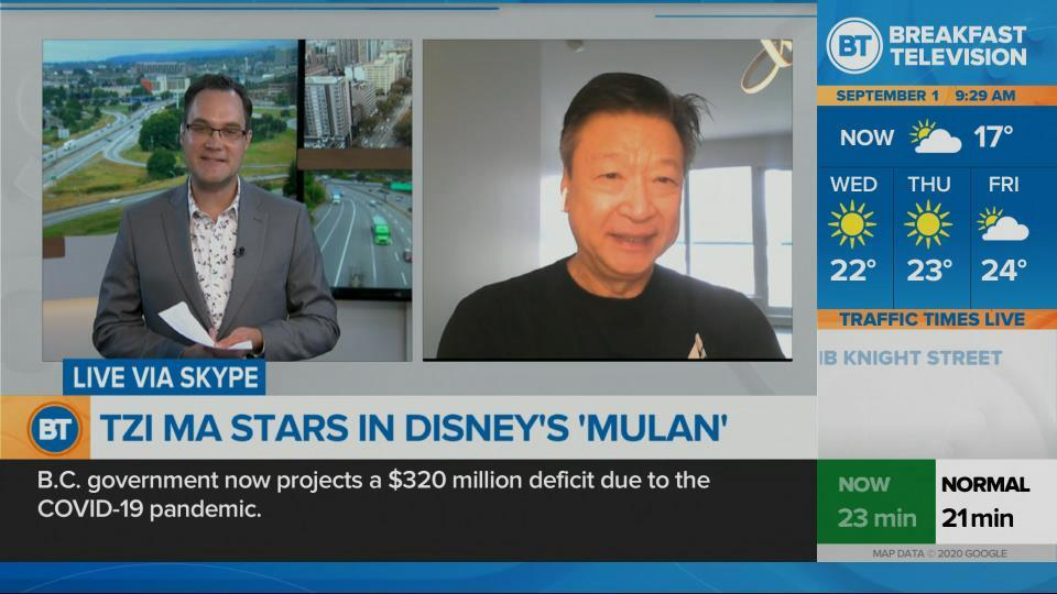 Actor Tzi Ma stars in 'Mulan'