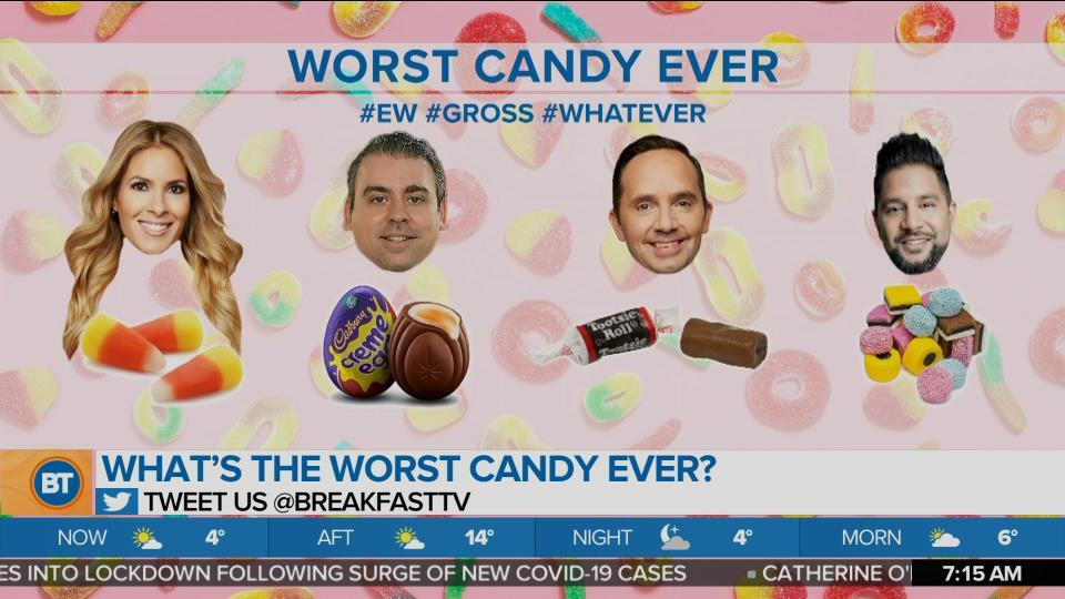 What's the Worst Candy Ever?