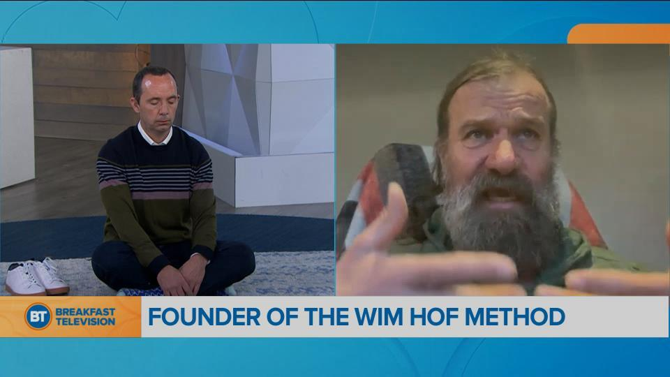 Movin' in the Morning with Wim Hof