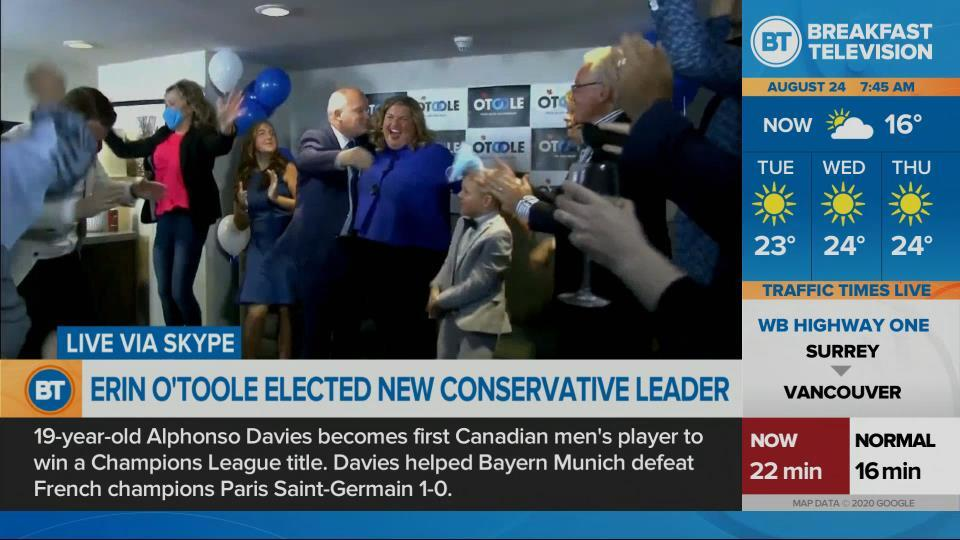 Erin O'Toole elected new Conservative leader