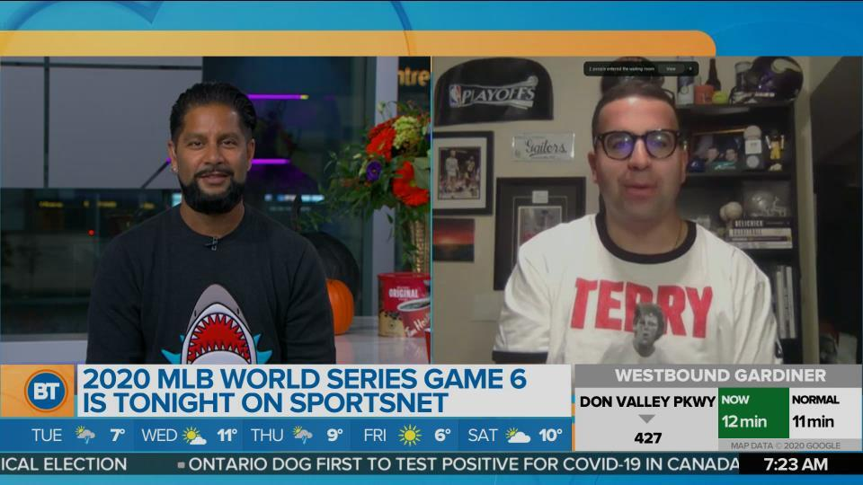 Arash Madani chats about tonight's Game 6 in the MLB World Series