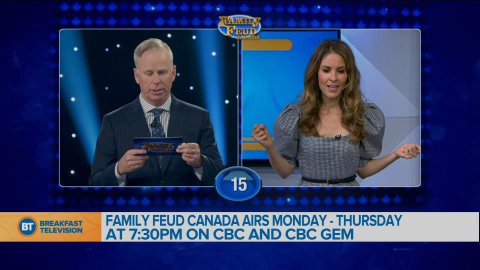 Chatting with Family Feud Canada Host Gerry Dee!