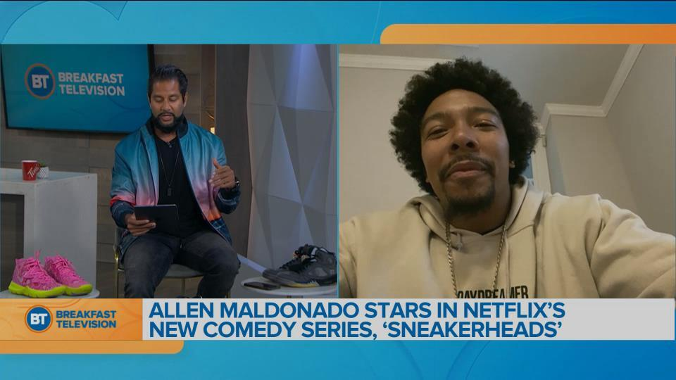 "Allen Maldonado chats about his new Netflix series ""Sneakerheads"""