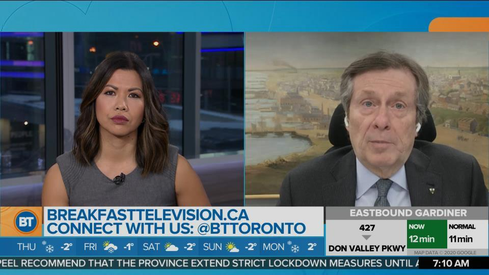 A COVID-19 Update With Mayor John Tory