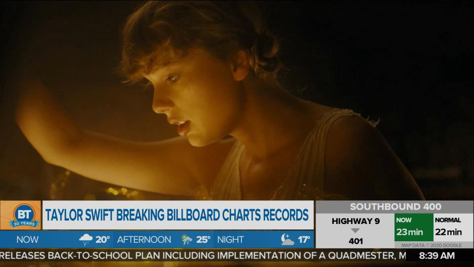 'Cardigan' makes Swift the first artist ever to have an album and single at #1