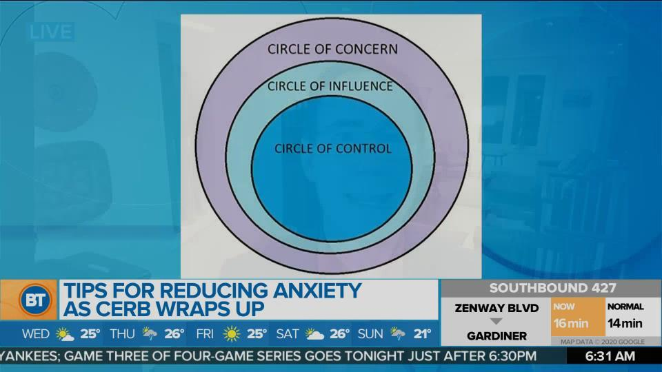 Tips for reducing anxiety as CERB wraps up